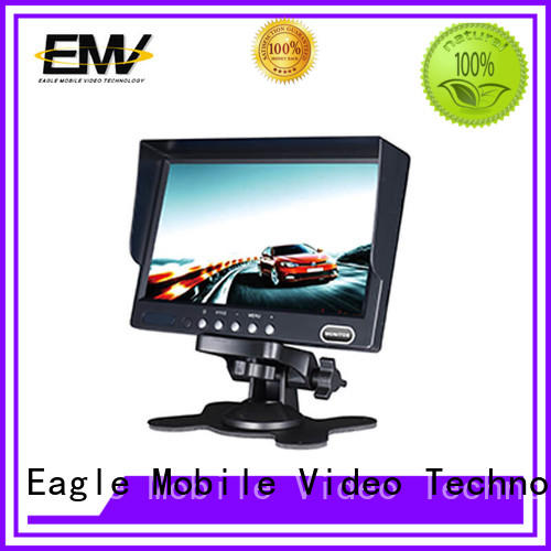 car rear view monitor device for police car Eagle Mobile Video