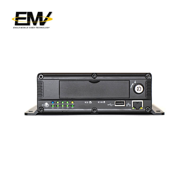 4CH 1080P  AHD HDD SSD GPS 3G 4G WIFI Mobile DVR EMV-HD5101