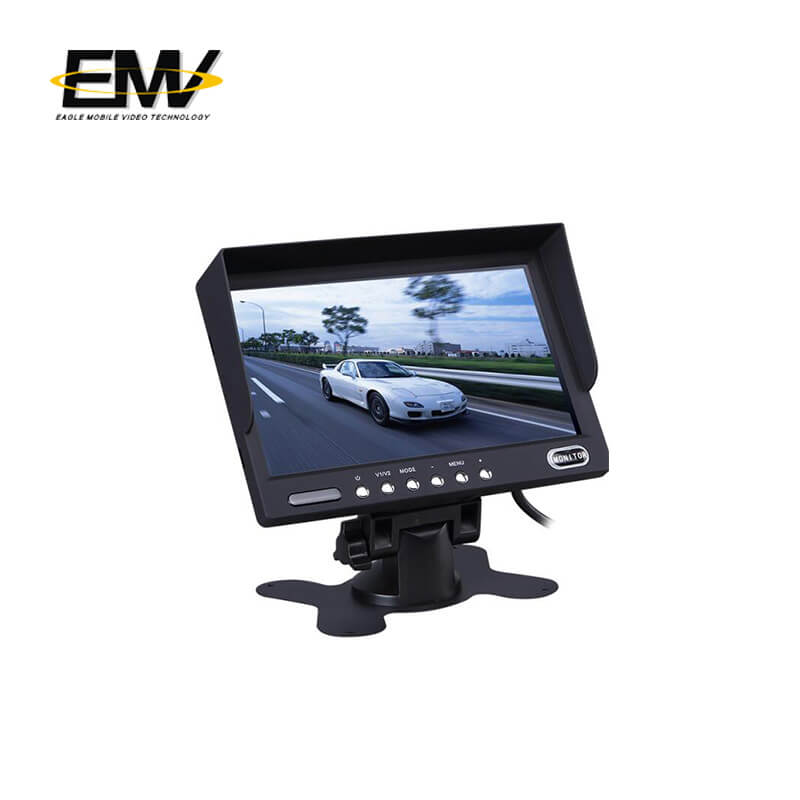 product-quality rear view camera monitor from manufacturer for buses-Eagle Mobile Video-img