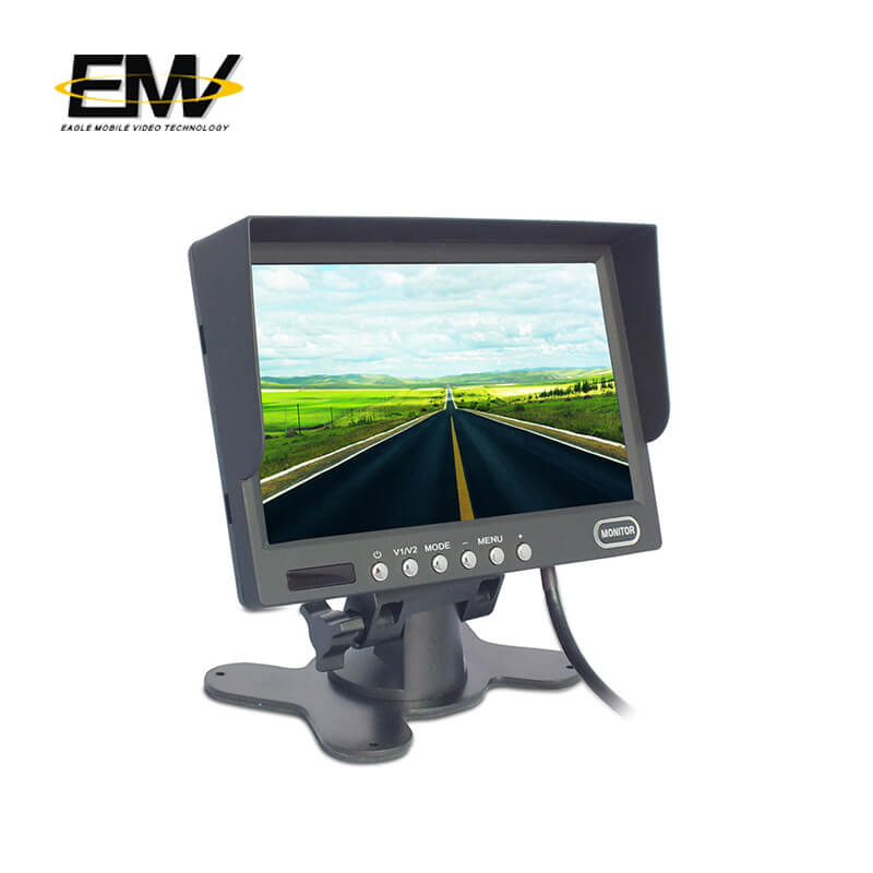 Eagle Mobile Video-7 Inch car rear view monitor with shade-1