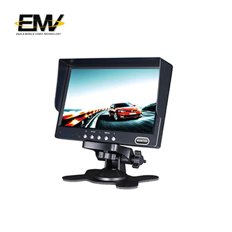 7 Inch car rear view monitor (with shade)
