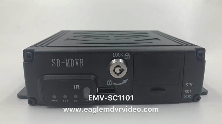 720p Dual SD Card MDVR EMV-SC1101