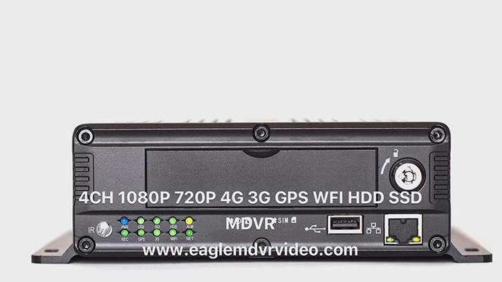 1080P 720P HDD SSD MDVR EMV-HD4101