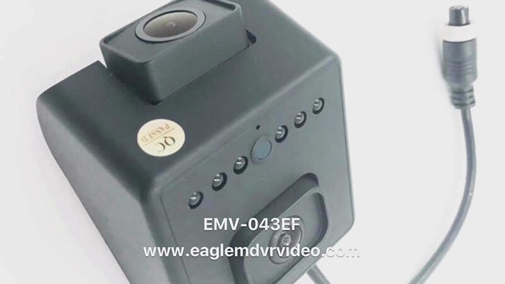 1080P 960P AHD Dual Lens Car Camera + Dual Lens Car Camera+EMV-043E
