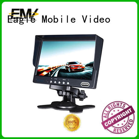 Eagle Mobile Video fine- quality rear view camera monitor inch for police car