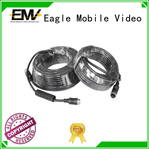 Eagle Mobile Video fireproof 4 pin aviation cable at discount for law enforcement
