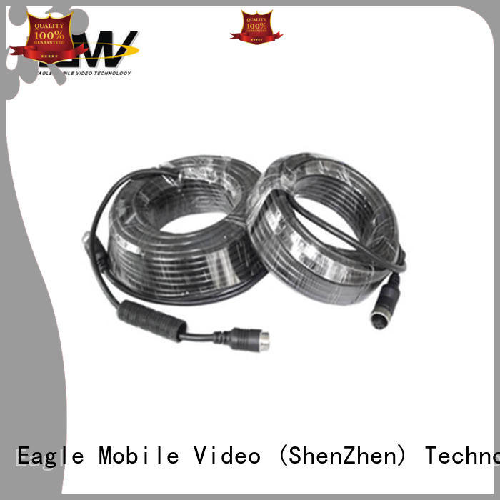 Eagle Mobile Video aviation 4 pin aviation cable factory price for police car