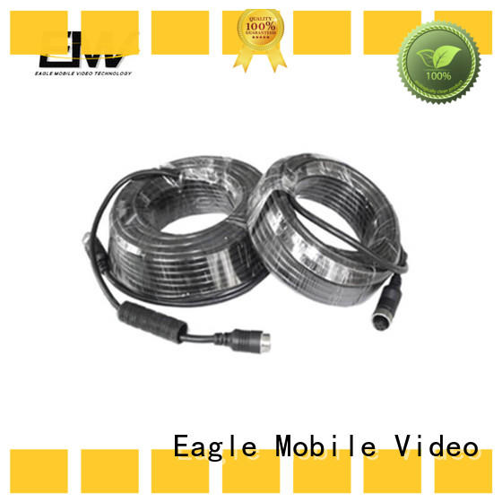 Eagle Mobile Video high efficiency 4 pin aviation cable bulk production for train