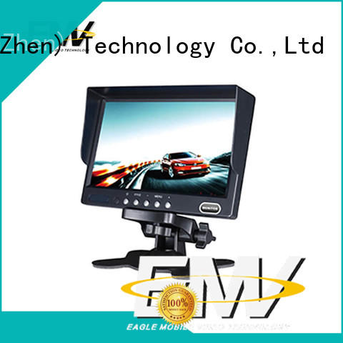 Eagle Mobile Video newly 7 inch car monitor rear for police car