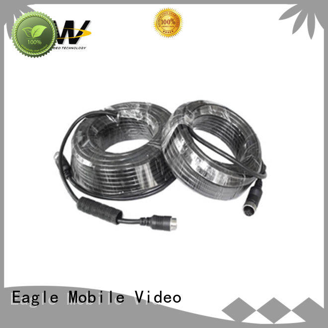 Eagle Mobile Video portable 4 pin aviation cable accessories for prison car