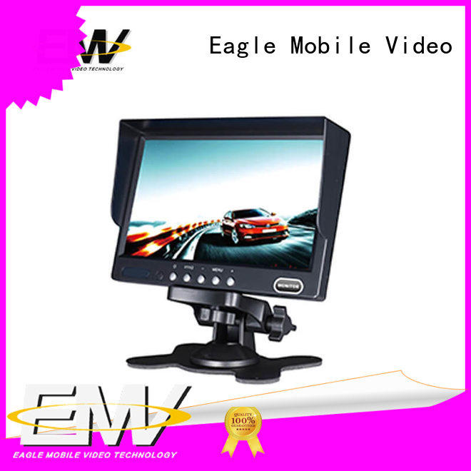 Eagle Mobile Video wireless 7 inch car monitor free design for taxis