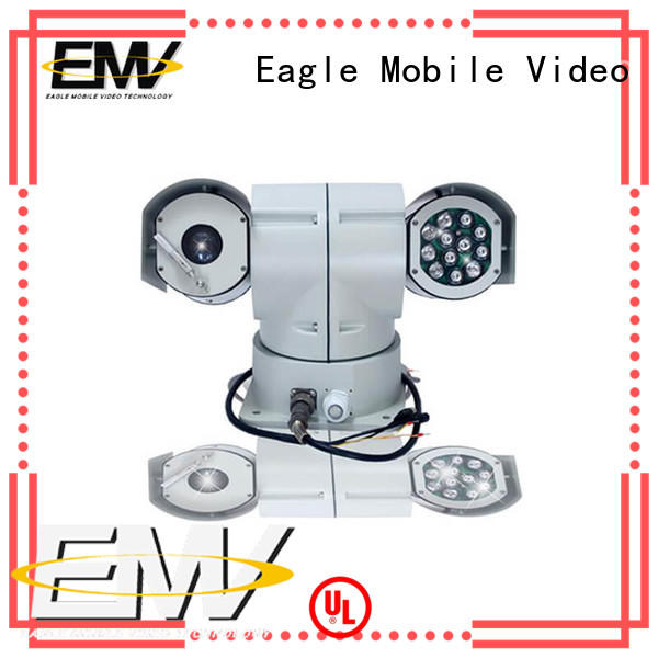 PTZ Vehicle Camera monitor for emergency command systems Eagle Mobile Video