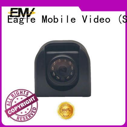 IP vehicle camera package for buses