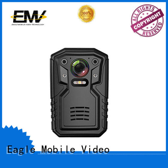 Eagle Mobile Video operating police body camera long-term-use for prison car