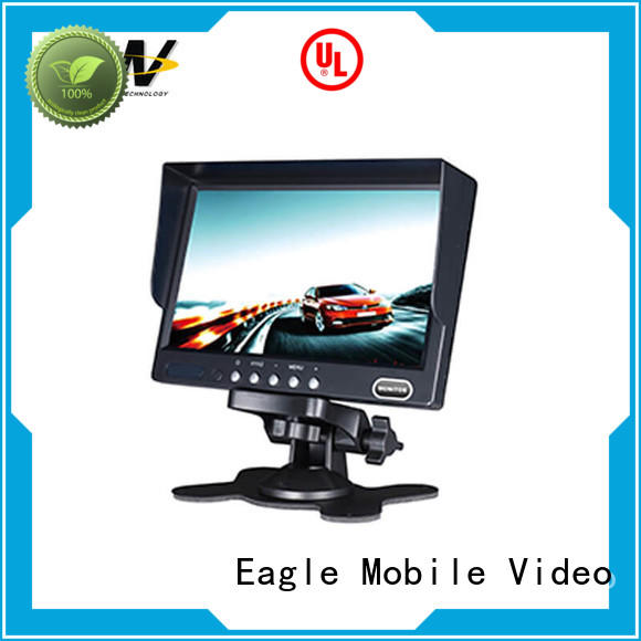 fine- quality 7 inch car monitor from manufacturer for train Eagle Mobile Video