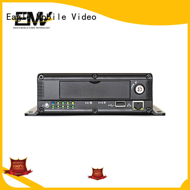 Eagle Mobile Video reliable mobile dvr 4 channel wifi for buses