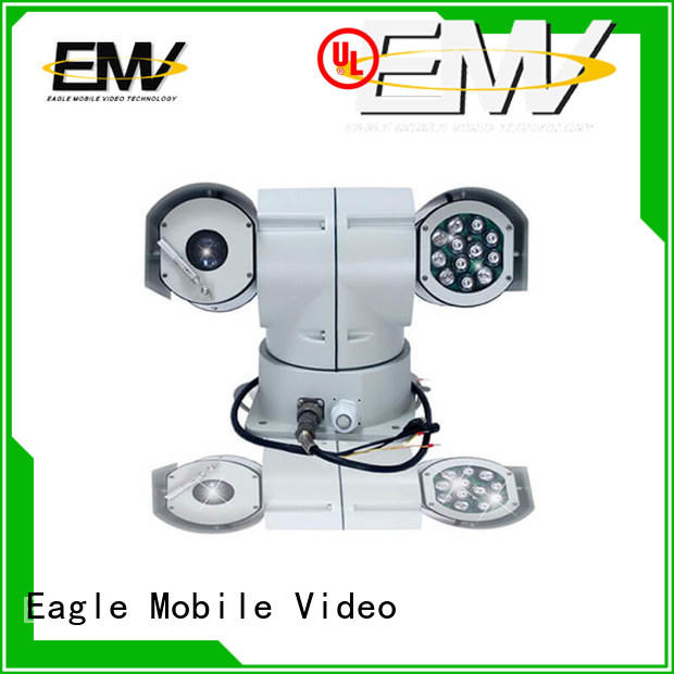 low cost PTZ Vehicle Camera wireless for urban inspectors