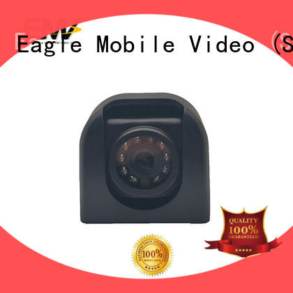 Eagle Mobile Video rear outdoor ip camera solutions for police car