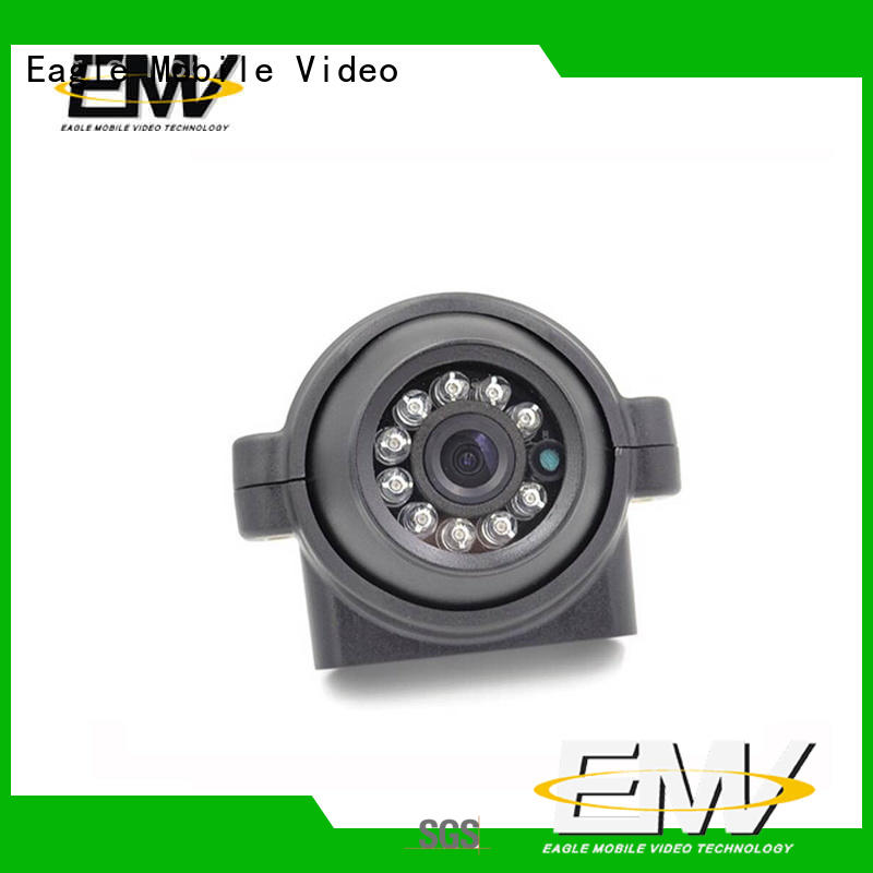 Eagle Mobile Video rear vehicle mounted camera effectively for prison car