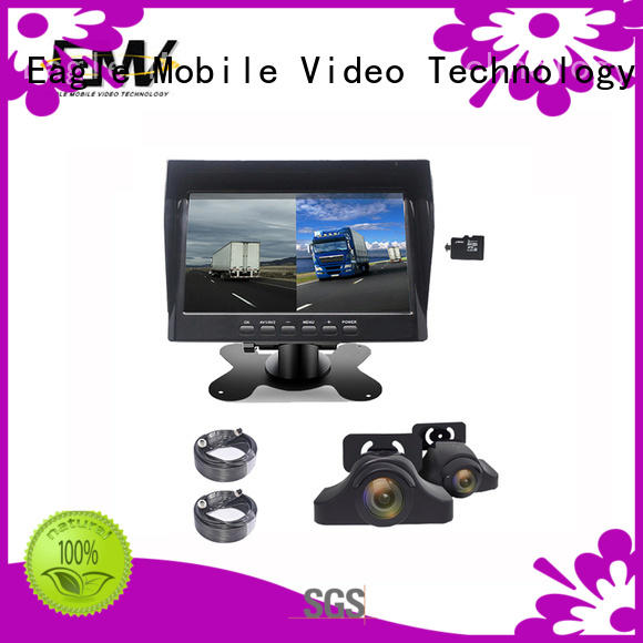 Eagle Mobile Video shade car rear view monitor free design for train