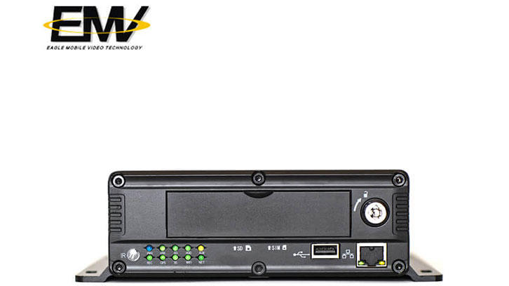 4CH 720P HDD SSD 3G GPS Vehicle MDVR EMV-HD4101C
