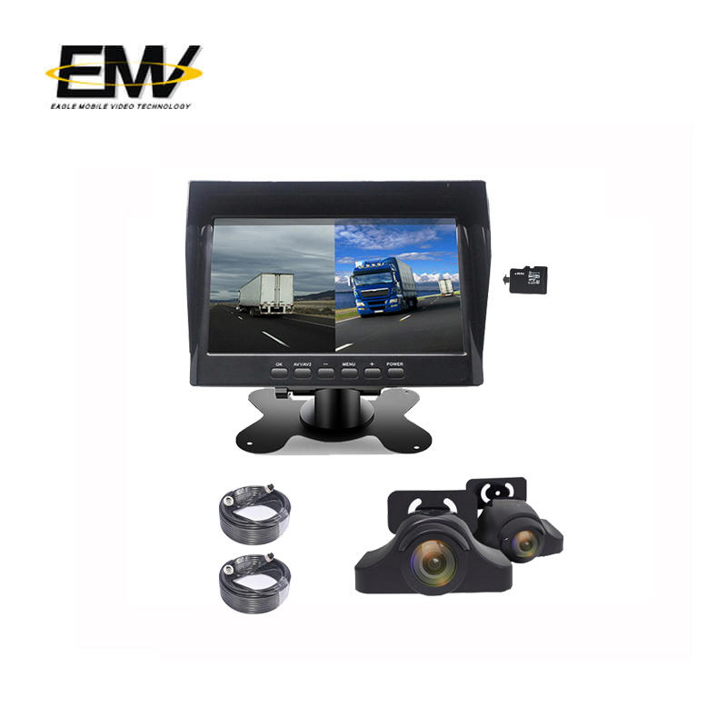 7 Inch 960P Monitor Recorder DVR Cameras All In One System E-MR01