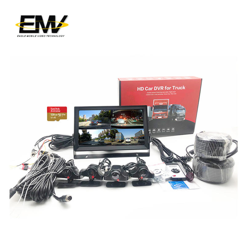 11 inch 4Way 960P Reverse Bus Car Video Camera Monitor System  E-MR04
