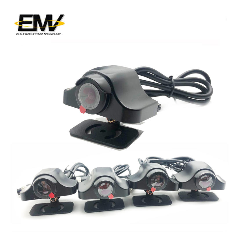 Camera Car Monitoring 11 Inch Wired 5 Channel Split Ahd Dvr Cctv System With Monitor E-MR05