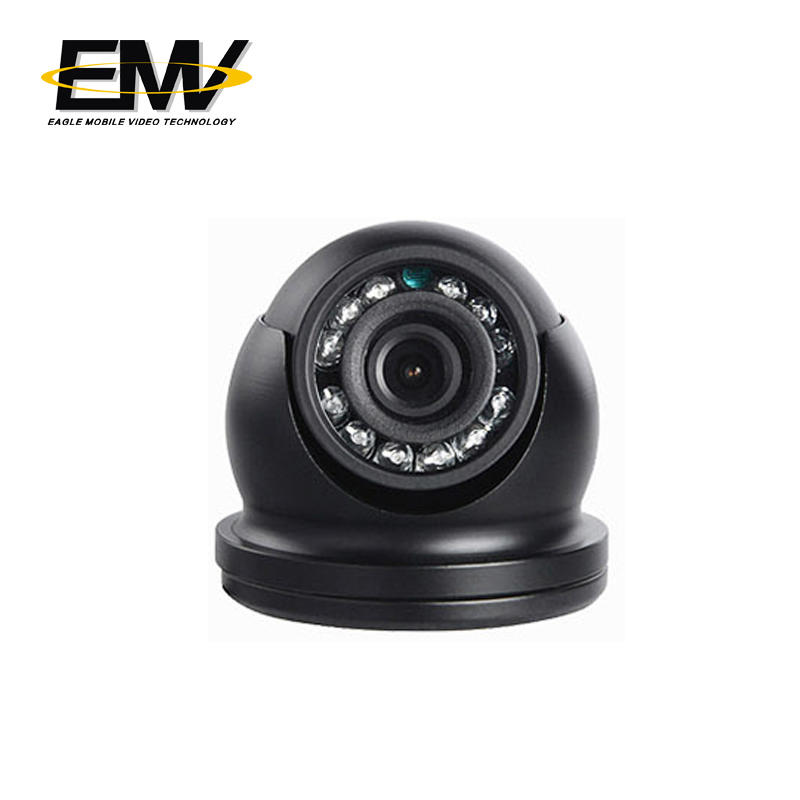 Vehicle AHD Small Mini Dome Inside Bus Cameras EMV-002Z