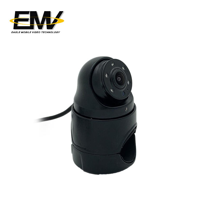 Vandalproof Ahd Truck Waterproof Side View Camera For Bus EMV-034M