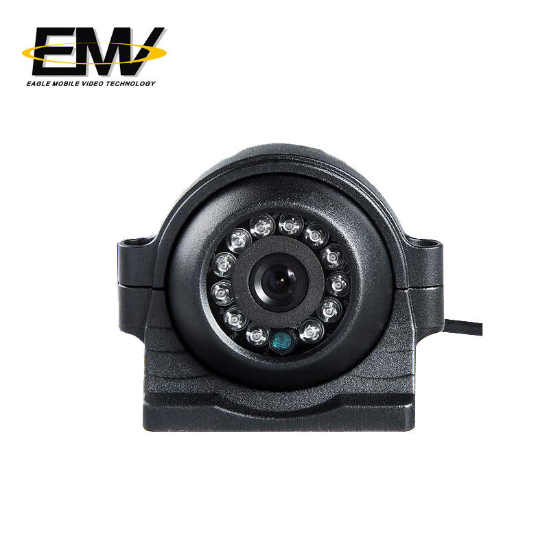POE 1080P 960P 720P IP Truck Fleet Side View Camera EMV-012I