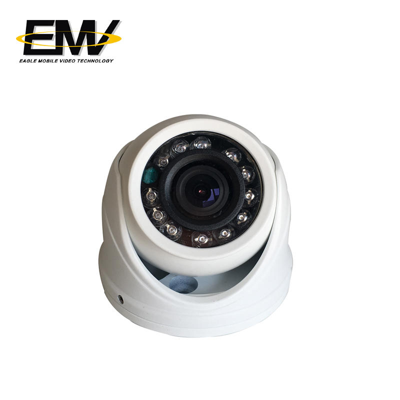 Mini Dome Camera Vandanlroof Night vision Camera for Bus EMV-002W