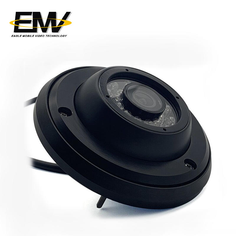 Mobile AHD inside view monitoring Dome Camera With IR and Audio for School Bus/Bus EMV-002F