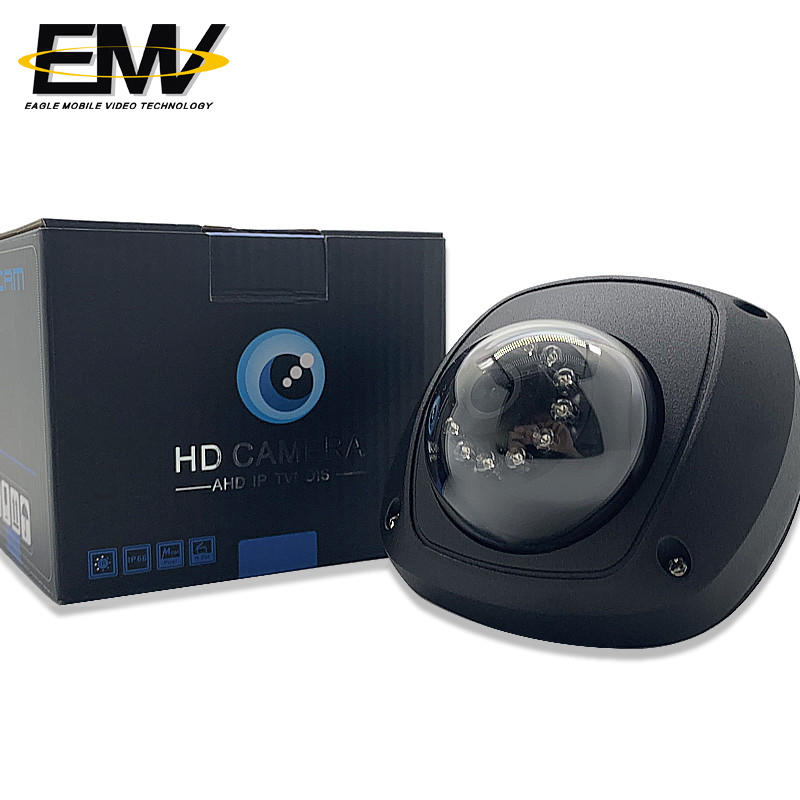 Vehicle Surveillance Inside Car Dome for Metro Cctv Camera For School Bus EMV-043S