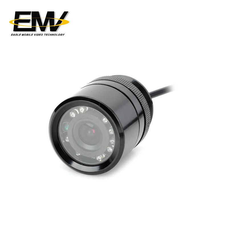 Waterproof Rear Mirror Security Reverse Rearview Car Camera EMV-033C