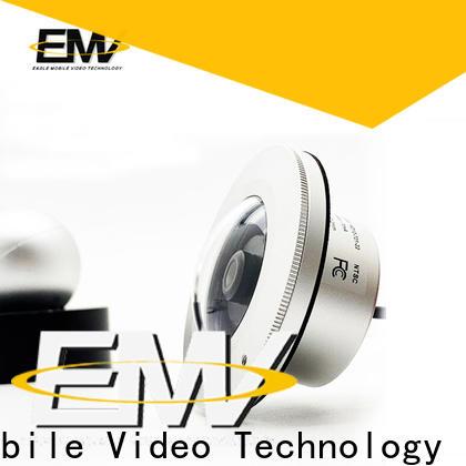 Eagle Mobile Video vandalproof dome camera owner for prison car