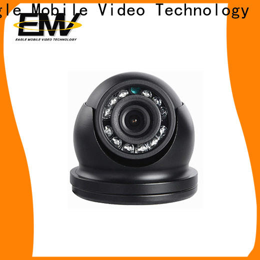 Eagle Mobile Video vandalproof dome camera effectively for train