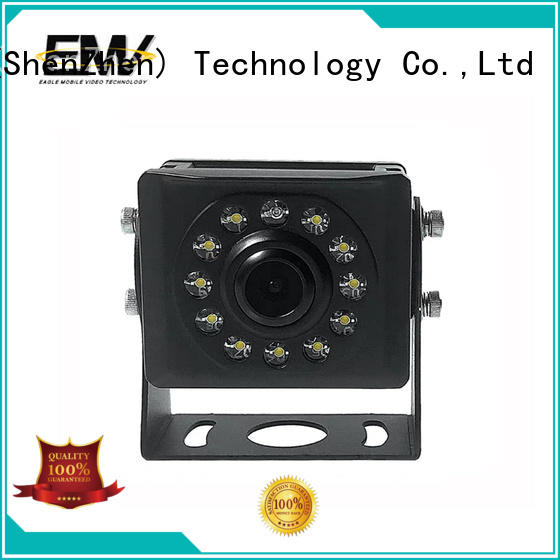 adjustable vehicle mounted camera vision for buses