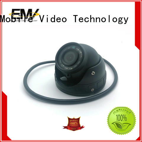 low cost vandalproof dome camera view for-sale for police car