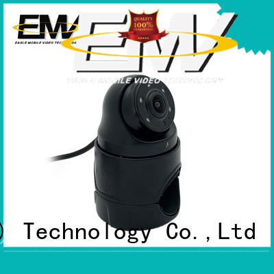 Eagle Mobile Video vandalproof dome camera marketing for prison car