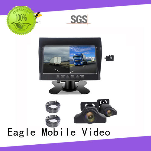 car rear view monitor inch from manufacturer for police car