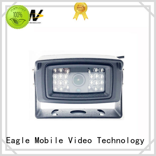 Eagle Mobile Video side vehicle mounted camera for buses