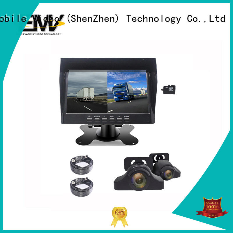 portable car rear view monitor inch bulk production for buses