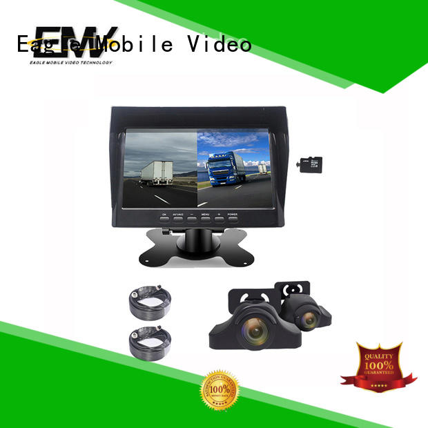 portable car rear view monitor view free design for prison car