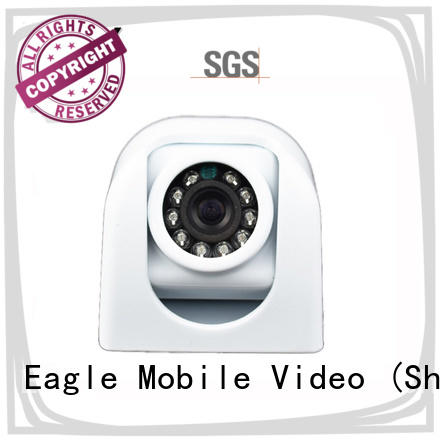 Eagle Mobile Video duty vandalproof dome camera effectively for police car