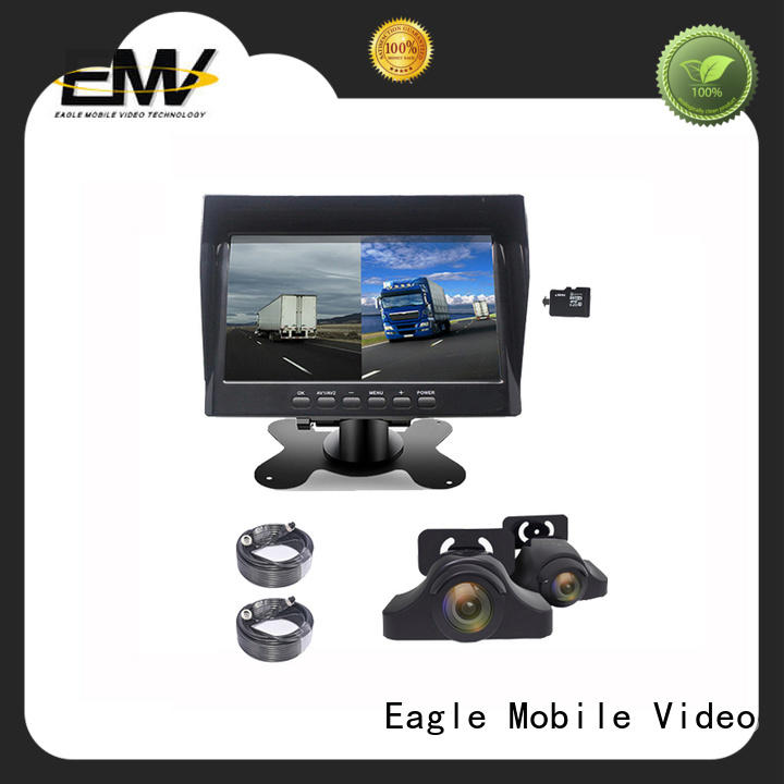 Eagle Mobile Video view car rear view monitor at discount for taxis