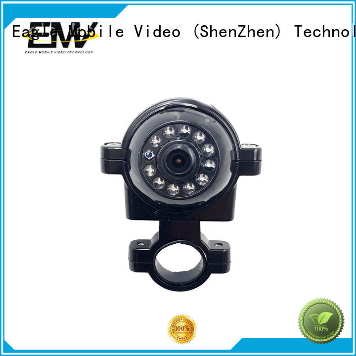 Eagle Mobile Video view vandalproof dome camera supplier for police car