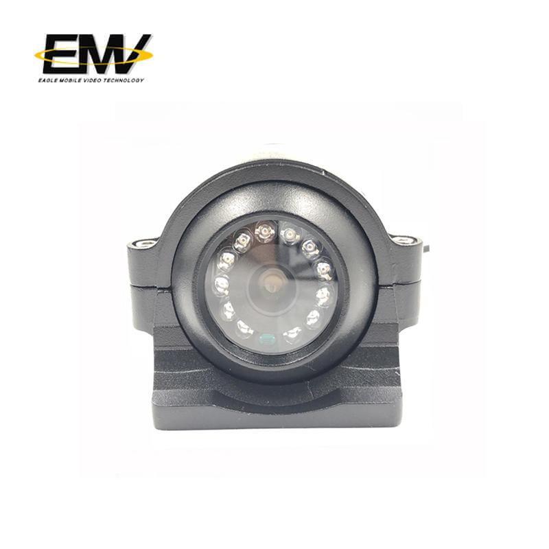 POE 960P 720P IP Truck Fleet Side View Camera EMV-012I