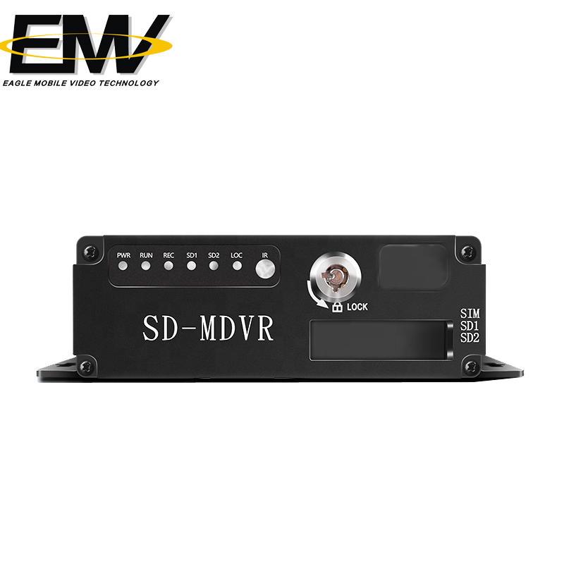 720P 4CH Dual SD CARD MDVR EMV-SC1101M