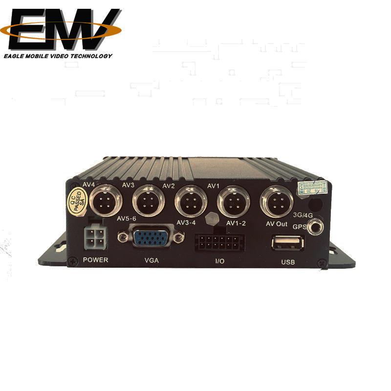 1080P 4CH AHD Dual SD Card Mobile DVR EMV-SC1101L